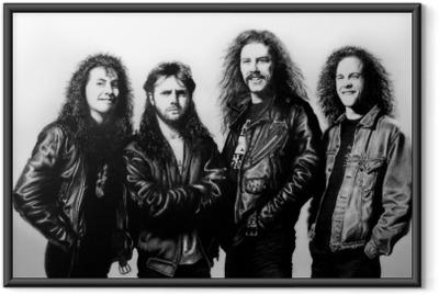 Metallica Indrammet plakat