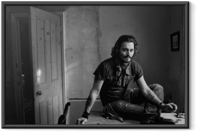 Çerçeveli Poster Johnny Depp