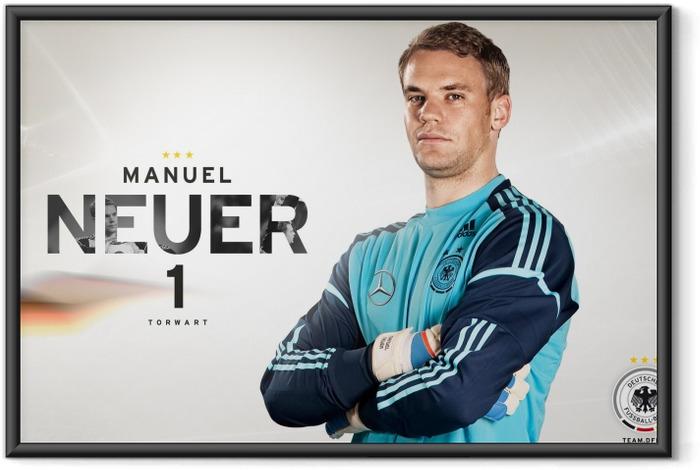 Plakat w ramie Manuel Neuer - Tematy