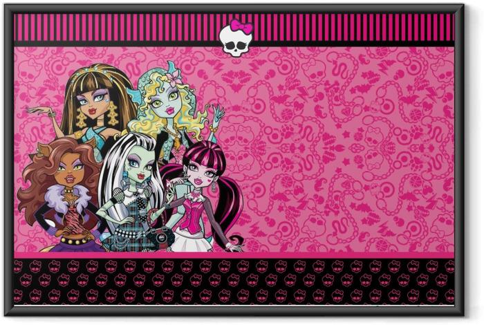 Plakat w ramie Monster High - Tematy