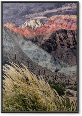 Poster en cadre Montañas en Salta, Argentine - Paysages