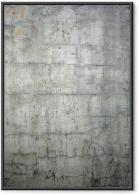 Poster en cadre Grunge texture de fond en béton - Thèmes