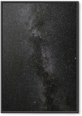 Ingelijste Poster Melkweg