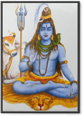 Poster en cadre Image de Shiva