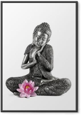 Poster en cadre Bouddha et Sérénité - Sticker mural