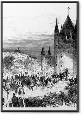 Templars - Templiers Framed Poster