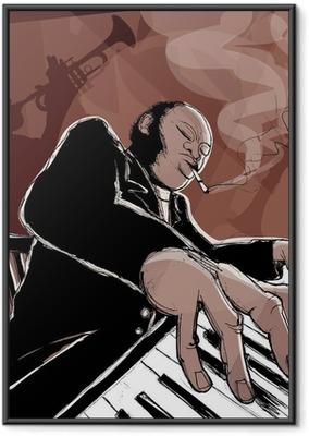 Jazz band Framed Poster
