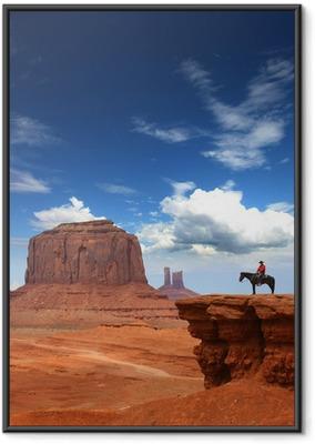 Ingelijste Poster Monument Valley