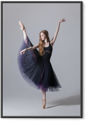 Tanssija Kehystetty juliste
