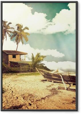 Gerahmtes Poster Photobeach-30