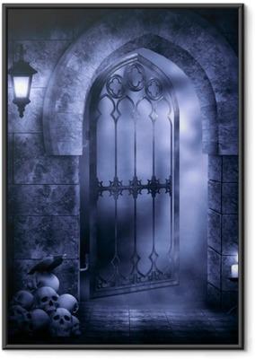 Gerahmtes Poster Gothic fantasy