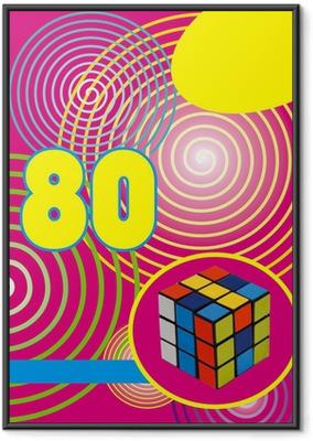 Fond années 80 rumikub Indrammet plakat
