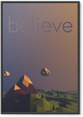 Poster i Ram Believe