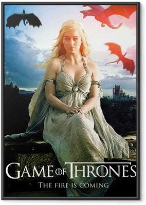 Gerahmtes Poster Daenerys Targaryen