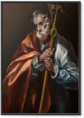 Poster en cadre Le Greco - Saint Jude dit Thaddée