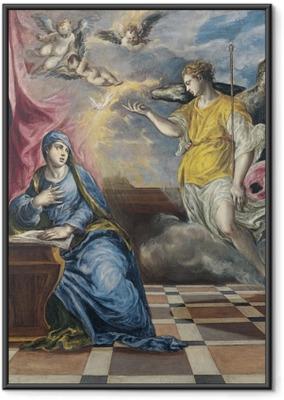 Poster en cadre Le Greco - L'Annonciation
