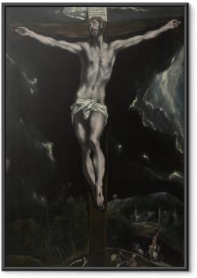 Poster en cadre Le Greco - la Crucifixion - Reproductions