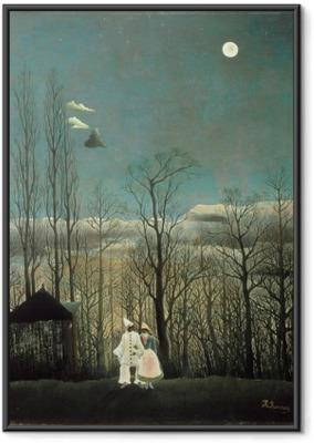 Henri Rousseau - Carnival Evening Framed Poster