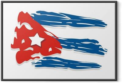 Poster i Ram Kuba flagga