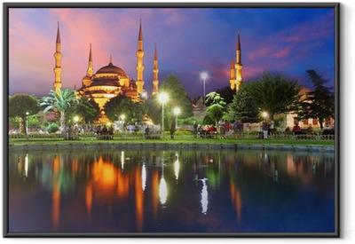 Poster en cadre Mosquée bleue à Istanbul, Turquie - Thèmes