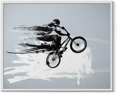 Sport vector illustration Framed Poster