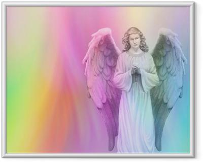 Ingelijste Poster Rainbow Angel 88