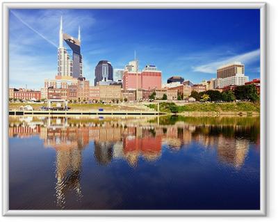 Downtown Nashville Framed Poster