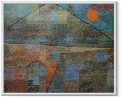Paul Klee - Ad Parnassum Framed Poster