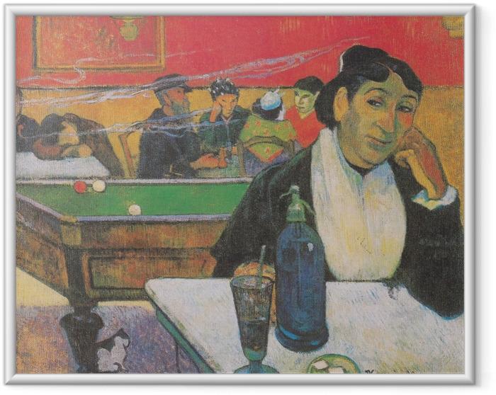 Poster in Cornice Paul Gauguin - Mme. Ginoux - Riproduzioni