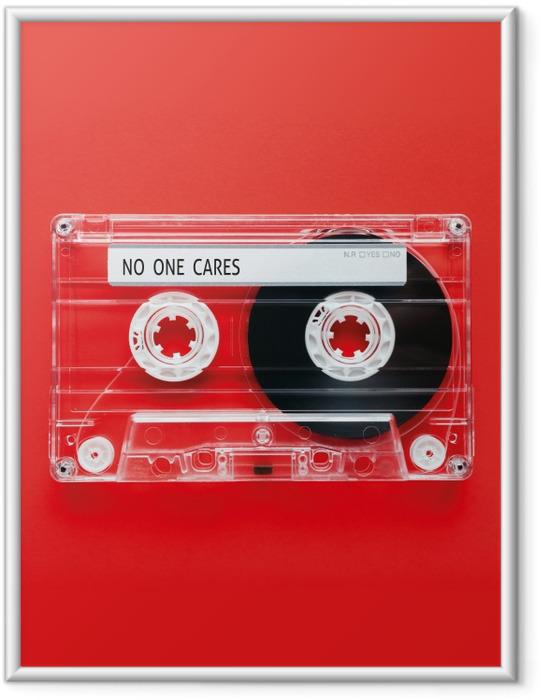 Póster Enmarcado No one cares -
