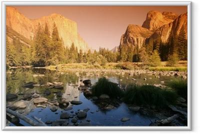 Ingelijste Poster Yosemite National Park