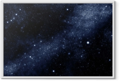 Póster com Moldura starfield