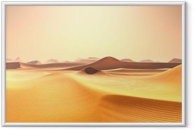 Ingelijste Poster Desert