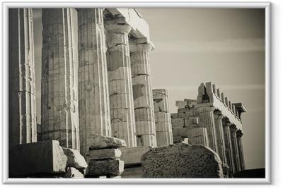 Poster en cadre Colonnes grec
