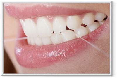 Poster en cadre Fil dentaire