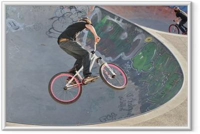 Poster en cadre Vélo BMX