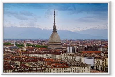 Poster in Cornice Mole Antonelliana, Torino (Piemonte), Italia