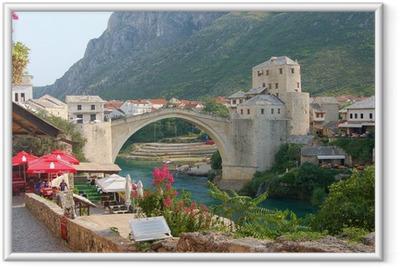Gerahmtes Poster Bosnie
