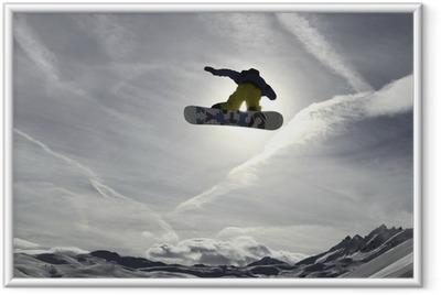 Snowboard Framed Poster