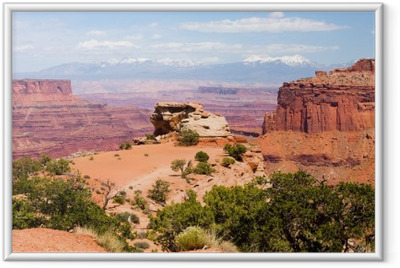 Ingelijste Poster Canyonlands National Park, Utah, Verenigde Staten