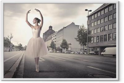 Poster en cadre Danseur