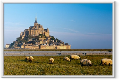 Poster en cadre Le Mont Saint Michel, France
