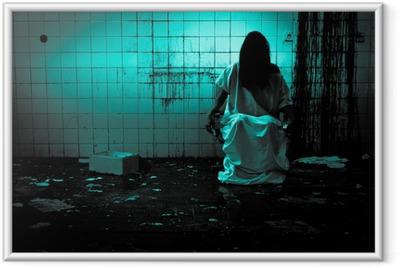 Poster en cadre Horreur ou scène effrayante