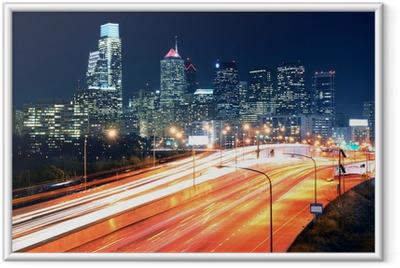 Philadelphia Center City Framed Poster