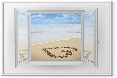Poster en cadre Fenêtre - Thèmes