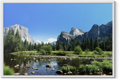 Ingelijste Poster Californie - Yosemite National Park