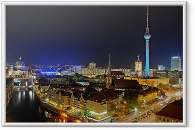 Berlin Fernsehturm Framed Poster