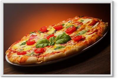 Pizza Indrammet plakat
