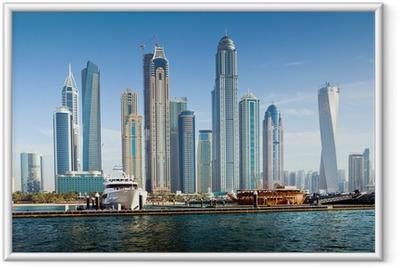Dubai Marina, UAE Framed Poster