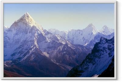 Poster en cadre Montagnes de l'Himalaya